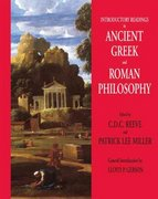 Introductory Readings in Ancient Greek and Roman Philosophy 1st Edition 9780872208308 0872208303