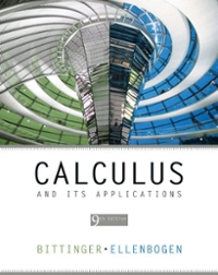 Calculus and Its Applications 9th edition 9780321395344 0321395344