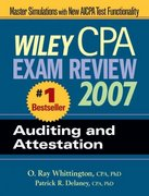 Wiley CPA Exam Review 2007 Auditing and Attestation 4th edition 9780471797562 0471797561