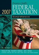 Prentice Hall's Federal Taxation 2007 20th edition 9780132389471 0132389479
