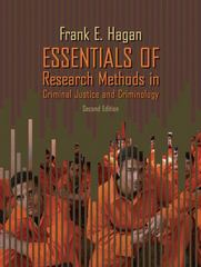 Essentials of Research Methods for Criminal Justice 2nd Edition 9780205507559 0205507557
