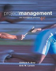 Project Management 4th edition 9780073348179 0073348171