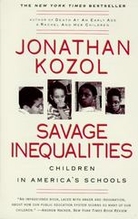 Savage Inequalities 1st Edition 9780060974992 0060974990