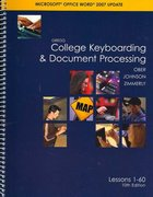 Gregg College Keyboarding &amp. Document Processing (GDP). Microsoft Word 2007 Update, Lessons 1-60 text 10th edition 9780073368313 0073368318