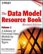 The Data Model Resource Book 1st edition 9780471353485 0471353485