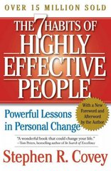 The 7 Habits of Highly Effective People 15th Edition 9780743269513 0743269519