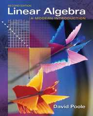 Linear Algebra 2nd edition 9780534998455 0534998453