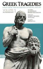 Greek Tragedies, Volume 1 2nd edition 9780226307909 0226307905