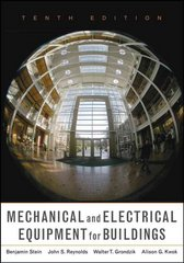 Mechanical and Electrical Equipment for Buildings 10th edition 9780471465911 0471465917