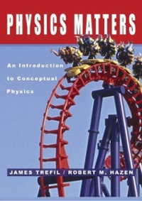 Physics Matters 1st edition 9780471150589 0471150584