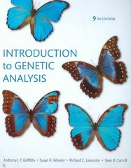 Introduction to Genetic Analysis 9th edition 9780716768876 0716768879