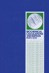 Biochemical Calculations 2nd Edition 9780471774211 0471774219