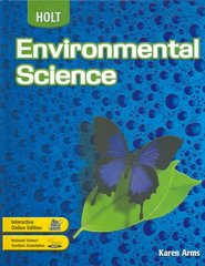 Holt Environmental Science 4th edition 9780030661747 0030661749