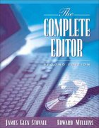 The Complete Editor 2nd Edition 9780205434633 0205434630