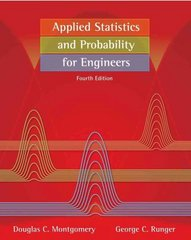 Applied Statistics and Probability for  Engineers 4th edition 9780471745891 0471745898