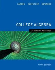 College Algebra 5th edition 9780618851881 0618851887