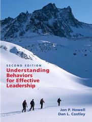Understanding Behaviors for Effective Leadership 2nd Edition 9780131484528 0131484524