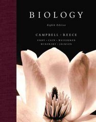 Biology 8th edition 9780805368444 0805368442