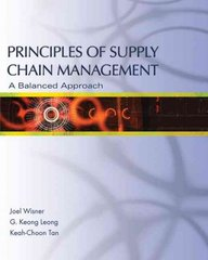Supply Chain Management 1st edition 9780324191875 0324191871