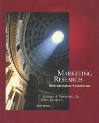 Marketing Research 9th edition 9780324201604 0324201605