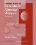 Quantitative Chemical Analysis Student Solutions Manual