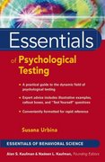 Essentials of Psychological Testing 1st Edition 9780471419785 0471419788