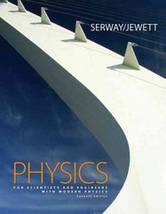 Physics for Scientists and Engineers with Modern Physics, Chapters 1-46 (with CengageNOW 2-Semester, Personal Tutor Printed Access Card) 7th edition 9780495112457 0495112453