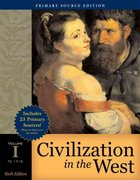 Civilization in the West, Volume I 6th Edition 9780321416933 0321416937