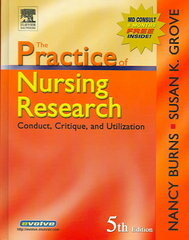 The Practice of Nursing Research 5th Edition 9780721606262 0721606261