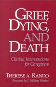Grief, Dying, and Death 1st Edition 9780878222322 0878222324