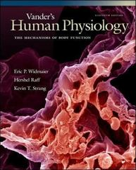 Vander's Human Physiology 11th edition 9780077216092 0077216091