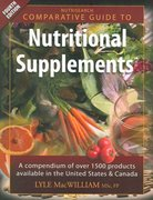 Nutrisearch Comparative Guide to Nutritional Supplements 4th edition 9780973253863 097325386X
