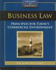 Business Law 2nd edition 9780324303940 0324303947
