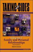 Taking Sides: Clashing Views in Family and Personal Relationships 7th edition 9780073397146 0073397148