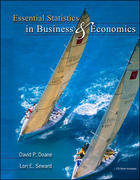 Essential Statistics in Business and Economics with St CDRom 1st edition 9780073346939 0073346934