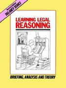 Learning Legal Reasoning 5th Edition 9780960851447 0960851445
