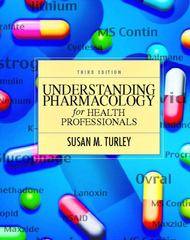 Understanding Pharmacology for Health Professionals 3rd Edition 9780130417428 0130417424