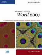 New Perspectives on Microsoft Office Word 2007, Introductory 1st edition 9781423905813 1423905814