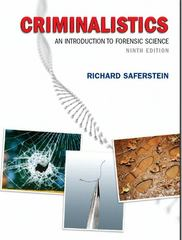 Criminalistics 9th Edition 9780132216555 0132216558