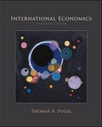 International Economics 13th edition 9780073523026 007352302X
