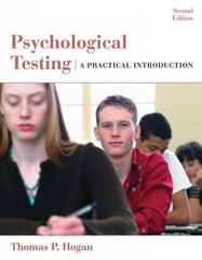 Psychological Testing 2nd Edition 9780471738077 0471738077