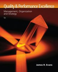 Quality and Performance Excellence 5th edition 9780324381320 0324381328