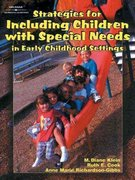 Strategies for Including Children with Special Needs in Early Childhood Settings 1st edition 9780827383524 0827383525