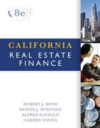 California Real Estate Finance 8th edition 9780324378344 0324378343