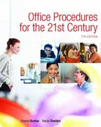 Office Procedures for the 21st Century & Student Workbook Package 7th edition 9780132308571 0132308576