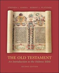 The Old Testament 2nd Edition 9780072990515 0072990511