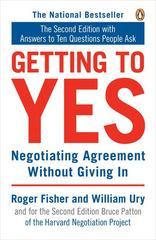 Getting to Yes 2nd Edition 9780140157352 0140157352