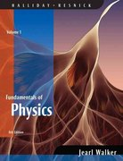 Fundamentals of Physics, Volume 1 (Chapters 1 - 20) 8th edition 9780470044735 047004473X