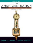 The American Nation 12th edition 9780321316332 0321316339