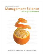 Introduction to Management Science 1st Edition 9780073252902 0073252905